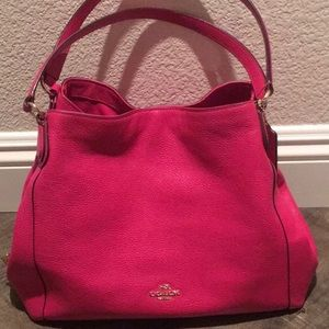 Edie soft pebble leather, used once